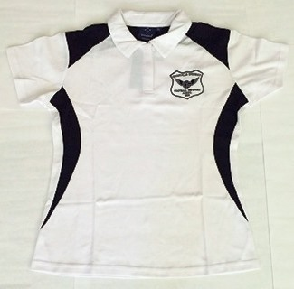 GDFRA White Polo Shirt