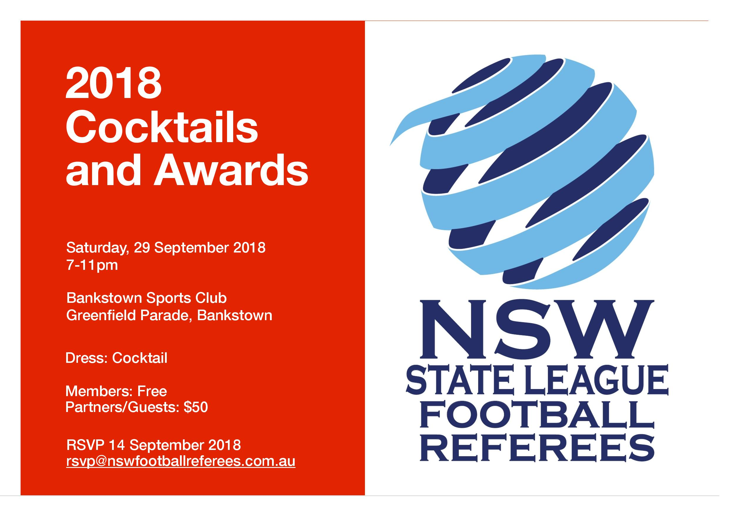 2018 Cocktails and Awards Night